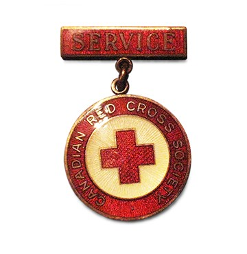 Canadian Red Cross Society Service Badge-FR