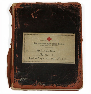 First Canadian Red Cross Executive Meeting Minutes