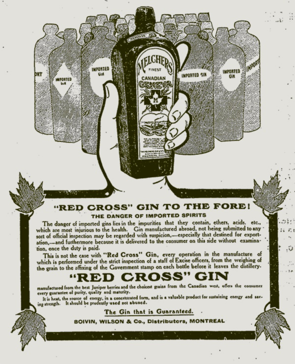 "Emblem Abuse: ""Red Cross"" Gin"