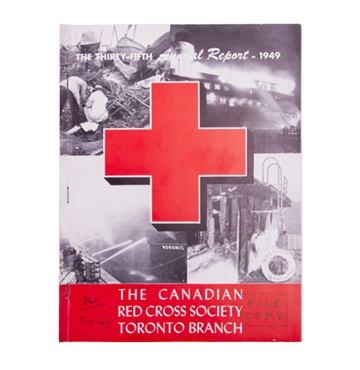 1949 Annual Report - Noronic Disaster Cover