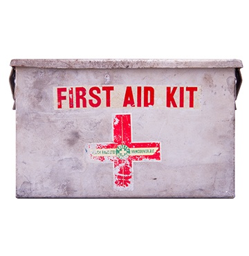 Metal First Aid Kit Vancouver