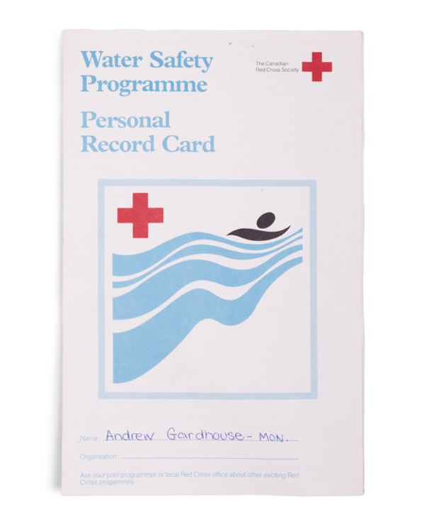 Water Safety Programme Personal Record Card-FR