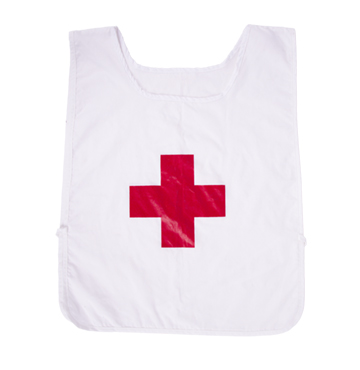 Red Cross Dossard-FR