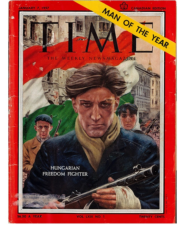 TIME magazine cover, January 7, 1957-FR