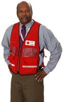 Raleigh Dehaney is one of more than 20,000 Canadians who make a difference as a Red Cross volunteer